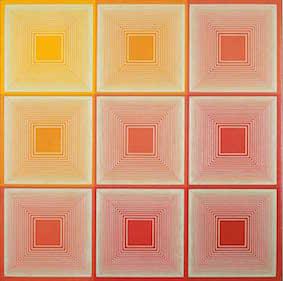 Richard Anuszkiewicz, Texas Red, 1969
