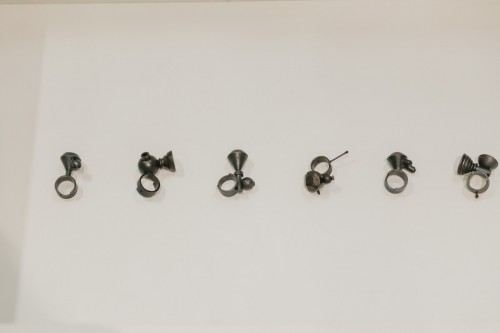 Manuel Vilhena's rings. PH: Liliana Peromarta. Valparaiso, Chile. 2015.