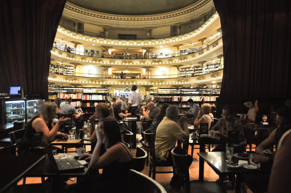 Coffee at El Ateneo Grand Splendid