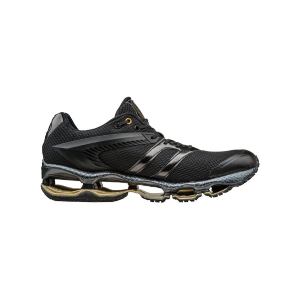AUTOMOBILI LAMBORGHINI BY MIZUNO WAVE TENJIN RUNNING SHOES BLACK