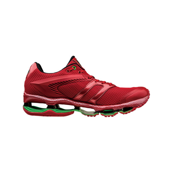 AUTOMOBILI LAMBORGHINI BY MIZUNO WAVE TENJIN RUNNING SHOES RED