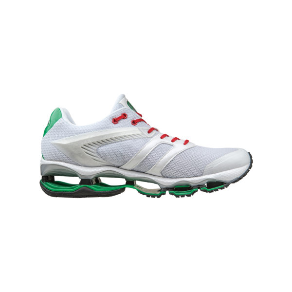 AUTOMOBILI LAMBORGHINI BY MIZUNO WAVE TENJIN RUNNING SHOES WHITE