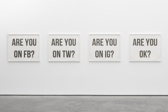 'Are you ok?' Ignacio Kise. Printed art. 2016