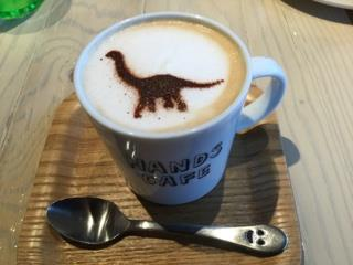 Dinosaur Latte in Japan