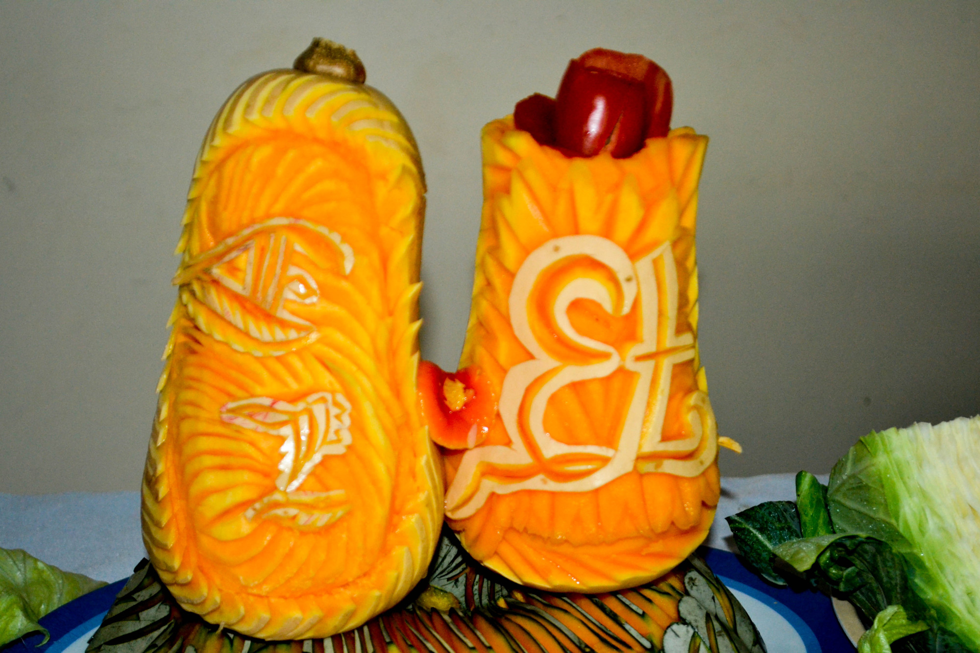fruit sculpting