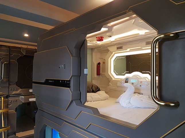 Capsule Hotel Is Affordable And Unique Welum