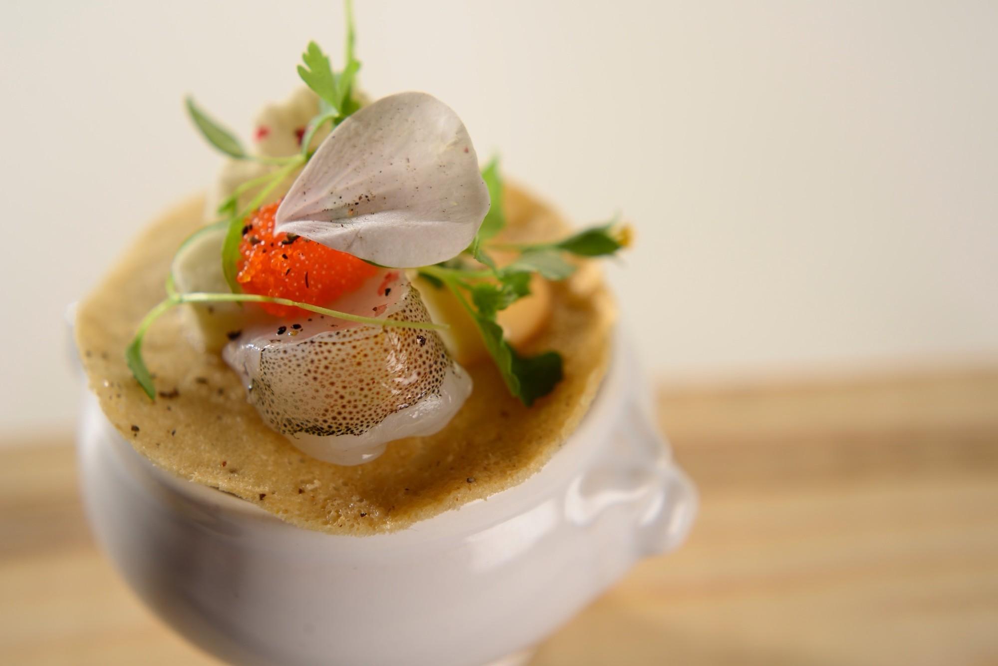 Lobster Bisque Tasting Menu